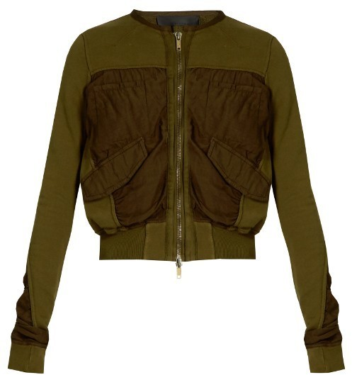 PARAJUMPERS Cropped Jackets verde