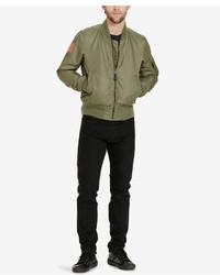 Denim & Supply Ralph Lauren Slim Fit Reversible Bomber Jacket