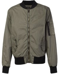 Zipped bomber jacket medium 954844