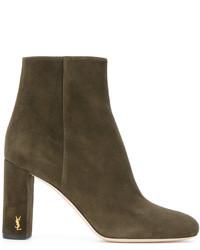 Saint Laurent Zipper Boots