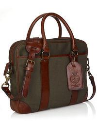 Olive Briefcase