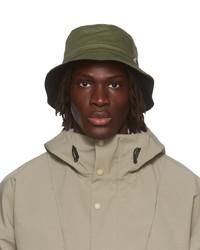 Gramicci Green Black Twill Bucket Hat