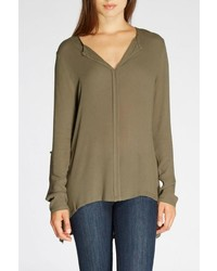 The Dressing Room Pleated Back Blouse