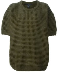 Marc by Marc Jacobs Textured Knit Loose Fit Sweater