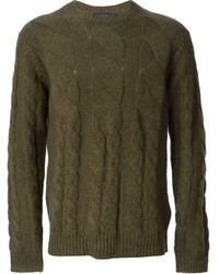 Paul Smith Jeans Cable Knit Sweater