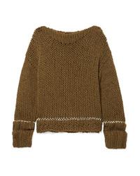 MM6 MAISON MARGIELA Ribbed Knit Sweater