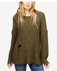 Lucky Brand Ripped Sweater