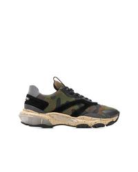 Valentino Valeninto Garavani Camouflage Bounce Sneakers