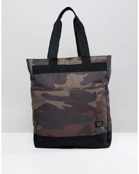 Jack & Jones Camo Tote Backpack