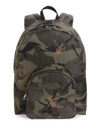 Alexander McQueen Dancing Skeleton Camo Backpack