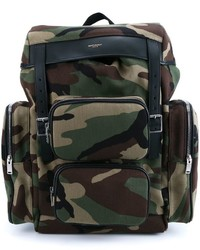 1c01aec29e Saint Laurent Leather Trimmed Camouflage Print Canvas Backpack Out of stock  · Saint Laurent Dlav Backpack