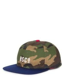 Olive Camouflage Baseball Cap