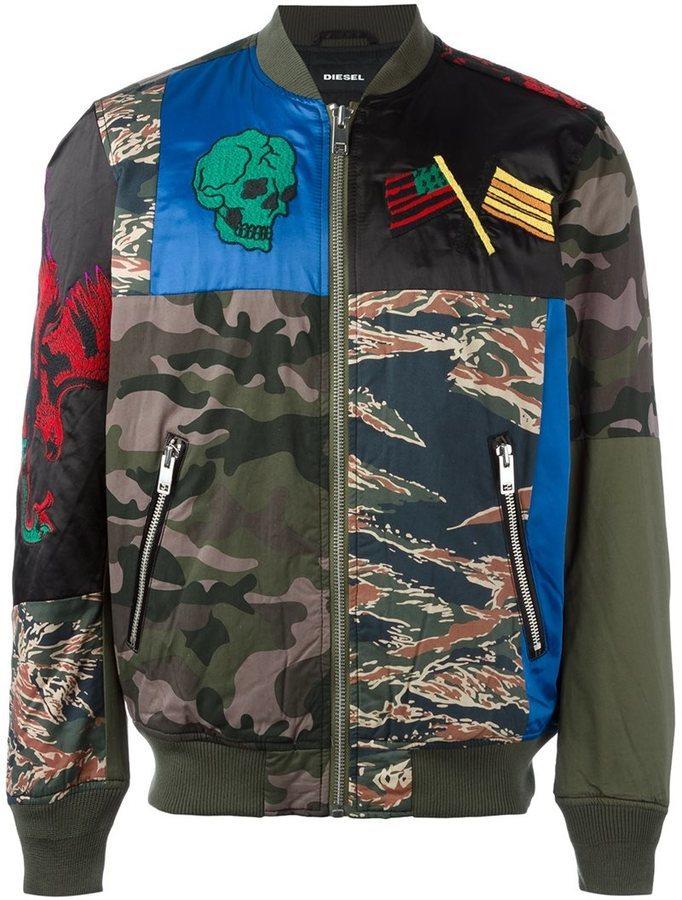 127d11d64 Camouflage Bomber Jacket