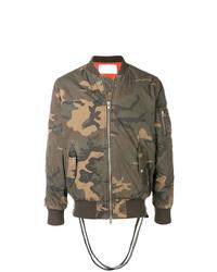 Stampd Military Printed Bomber Jacket