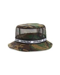 Olive Camouflage Bucket Hat