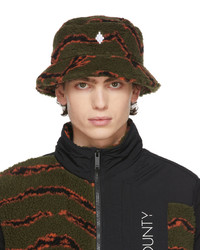 Marcelo Burlon County of Milan All Over Camou Bucket Hat