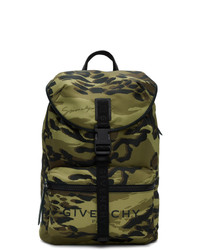 Givenchy Green Camo Light 3 Backpack