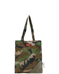 Valentino Garavani Camouflage Foldable Tote