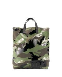 Valentino Garavani Vltn Camouflage Tote