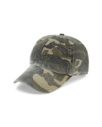 Treasure & Bond Washed Camo Baseball Cap