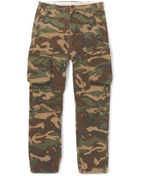 Olive Camouflage Cargo Pants