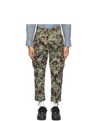 Clot Green Camo Paisley Cargo Pants