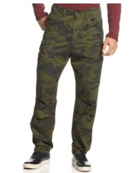GStar G Star Pants Rovic Tapered Camouflage Print Cargo