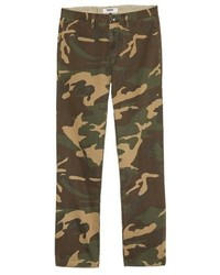 Olive Camouflage Chinos