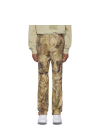 1017 Alyx 9Sm Green Camo Gaiter Trousers