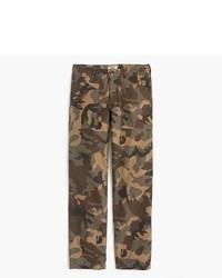 Military pant in cotton twill medium 6739265