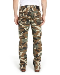 True Religion Brand Jeans Ricky Camo Relaxed Straight Leg Pants