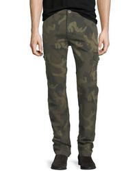 True Religion Slim Camouflage Cargo Pants