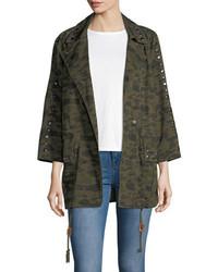 Monarda camouflage utility coat medium 4983966