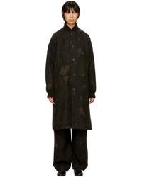 Ys khaki camo long coat medium 5363574