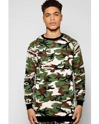 Boohoo Camo Sweater