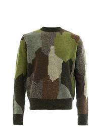 Stella McCartney Camouflage Print Jumper