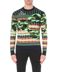 Diesel K Ruboris Patterned Knitted Jumper