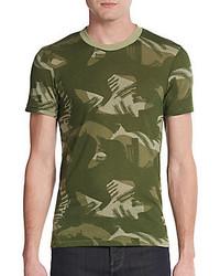 Alternative Camouflage Print Jersey Tee