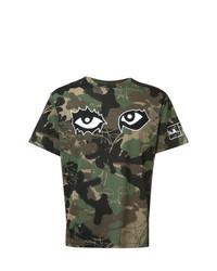 Haculla Camouflage Print T Shirt