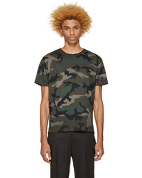 Valentino Green Authentic Camo T Shirt