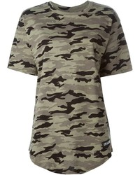 Les art ists wang 83 camouflage t shirt medium 277882