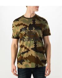 camiseta adidas hombre camuflaje