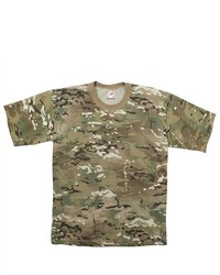 Rothco Camouflage T Shirt Multicam Small By