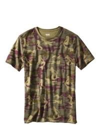 Shivalik Prints Ltd Mossimo Supply Co Short Sleeve Tee Green Camouflage L