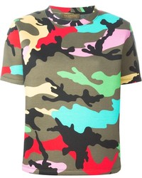 50a3040c Women's Camouflage Crew-neck T-shirts by Valentino | Women's Fashion ...