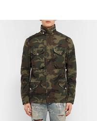 ... Amiri M 65 Camouflage Print Cotton Canvas Field Jacket ... b528a5e6bea