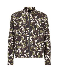 Fendi Big Bugs Print Track Jacket
