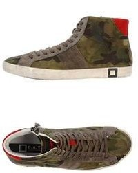 D.A.T.E High Tops Trainers