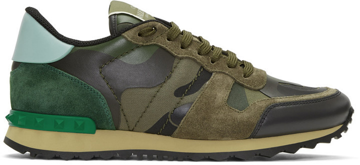 Rockrunner sneakers - Green Valentino PABzVE