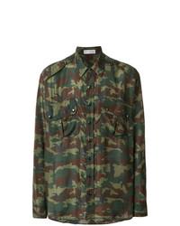 Camouflage print shirt medium 7765847